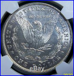 #1 1878 8tf Morgan Silver Dollar Ms63 Ngc