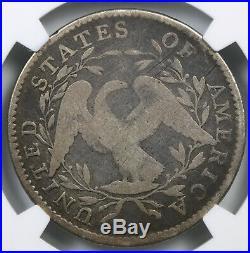 1795 O-115 Flowing Hair Half Dollar Silver 50C Good G 6 NGC