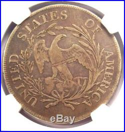 1797 Draped Bust Small Eagle Silver Dollar $1 (10x6 Stars) NGC VF Details