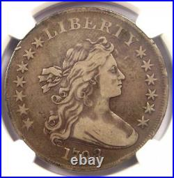 1798 Draped Bust Silver Dollar $1 Coin BB-113 B-27 NGC VF Details Near XF