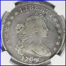 1799 $1 Draped Bust Dollar NGC F12