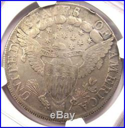 1799 Draped Bust Silver Dollar $1 Coin Certified NGC VF Detail Near XF