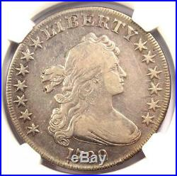 1799 Draped Bust Silver Dollar $1 Coin Certified NGC VF Detail Rare