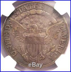 1806 Draped Bust Half Dollar 50C Coin O-106 (Knob 6) NGC XF40 $2,250 Value
