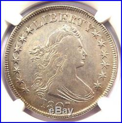 1807 Draped Bust Half Dollar 50C NGC VF Details Rare Certified Coin