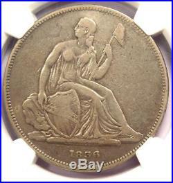 1836 Gobrecht Silver Dollar $1 Coin (Judd-60, J-60, Original) NGC Fine Details