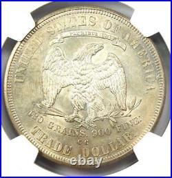 1876-CC Trade Silver Dollar T$1 Coin NGC MS61 (UNC BU) $8,700 Value