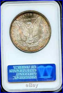 1878 CC Morgan Dollar Ngc Graded Ms 64 & Cac Approved Super Original Edge Tone