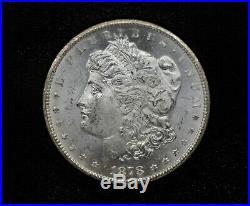 1878-CC NGC MS62 GSA Morgan Silver Dollar with Box & COA 109DUD