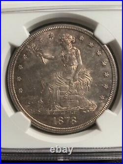 1878-S MS61 NGC Great Type Coin US Trade Dollar Great Type Coin