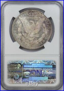 1878-S NGC Silver Morgan Dollar MS64 Purple Toned Semi-PL Fields