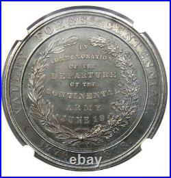 1878 Valley Forge Silver So-Called Dollar SC$1 PA HK-136. NGC MS63 (BU UNC) R7