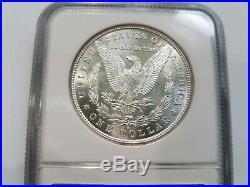 1879 S Silver Morgan Dollar NGC MS 64 Star Nice Mirrors PL Coin