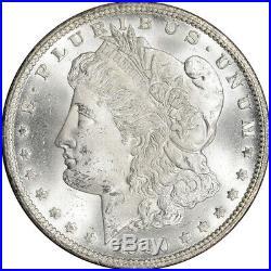1880/79-CC US Morgan Silver Dollar $1 Rev 78 GSA Holder Uncirculated NGC MS63
