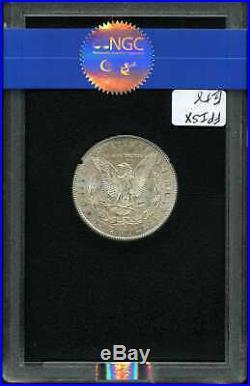 1880-CC $1 Morgan Silver Dollar GSA MS62 NGC 4761614-017 VAM-7A Rev 78 withBox&COA
