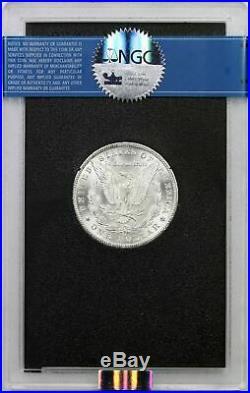 1880-CC Morgan Dollar Silver $1 MS 63 NGC GSA Hoard