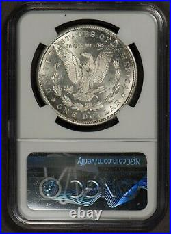 1880-S $1 Morgan Silver Dollar PQ Frosty Cheek NGC MS 65 SKU-X1327