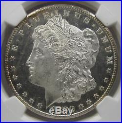 1880-S Morgan Silver Dollar NGC MS64 Star Obv DPL/DMPL Cameo DSC26