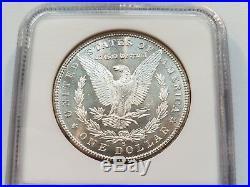 1880 S Silver Morgan Dollar NGC MS 65 Star Nice Mirrors PL Gem Graded