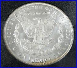 1881 CC Rainbow Toned Gsa Morgan Silver Dollar High Grade Ngc Ms 65 (001)