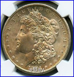 1881 S Morgan Silver Dollar NGC MS 67