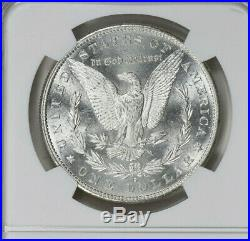 1881 S Morgan Silver Dollar, graded MS 67 by NGC