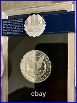 1881-cc Gsa Morgan Dollar Ms64plgsabox & Coarare This Nice