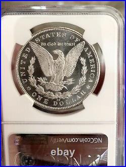 1882 CC MORGAN SILVER DOLLAR! MS64PL NGCKEY DATENear DMPL! CAMEO UDM COIN