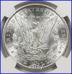 1882-CC Morgan Dollar Silver $1 MS 63 NGC