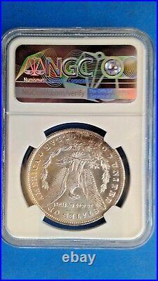 1882 cc Morgan Silver Dollar NGC MS 65