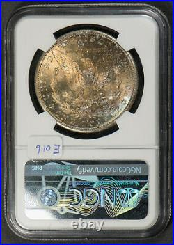 1882-s $1 Morgan Silver Dollar Neat Reverse Toning Ms 64 Lot#e016