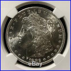 1882-s Morgan Dollar Ngc Certified Ms 66