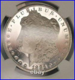 1883 CC Morgan Silver Dollar DMPL Truly UDMNGC DPL Deepest Of The DeepB&W