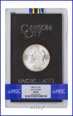 1883 CC Morgan Silver Dollar GSA Hoard NGC MS64 Carson City GSA Holder