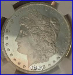 1883 CC Morgan Silver Dollar! MS64+PLNGCUltra Frosted With Liquid Fields