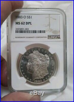 1883-O $1Morgan Silver Dollar NGC MS-62DMPL