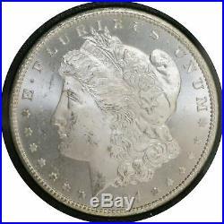 1884 CC $1 Morgan Silver Dollar NGC MS63 GSA Hoard
