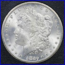 1885-CC Morgan Dollar Silver $1 MS 65 NGC GSA Hoard Box and COA