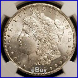 1885-CC Morgan Silver Dollar $1 Carson City NGC UNC Details
