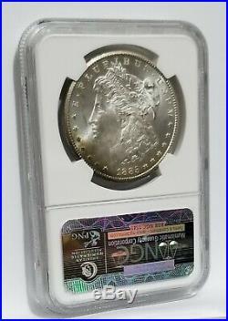 1885-CC NGC MS65 Morgan Silver Dollar STAR CARSON RAINBOW TONED GEM ONE OF KIND