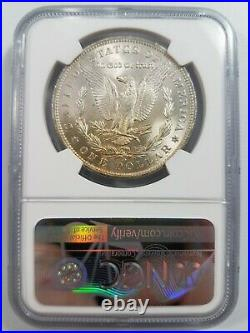 1885 O Morgan Silver Dollar NGC MS 63 Toner End Roll Toned Album Toner Toning