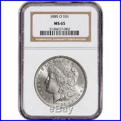 1885-O US Morgan Silver Dollar $1 NGC MS65