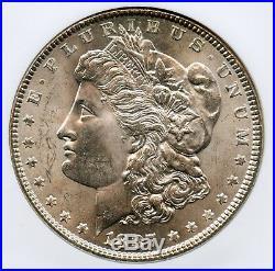1887 Morgan Silver Dollar NGC MS 66