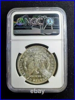 1887 Morgan Silver Dollar New York Bank Hoard NGC MS 64 From US Treasury Bags