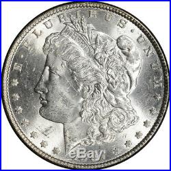1887 US Morgan Silver Dollar $1 GSA Holder Uncirculated NGC MS62