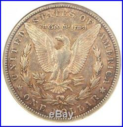 1889-CC Morgan Silver Dollar $1 Certified NGC XF40 (EF40) $3,400 Value