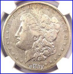 1889-CC Morgan Silver Dollar $1 NGC VF Details Rare Carson City Coin