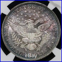 1892 50c Barber Half Dollar NGC AU 58