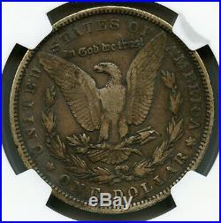 1893 Morgan Silver Dollar NGC F 15
