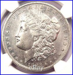 1893-S Morgan Silver Dollar $1 NGC XF Details (EF) Rare Coin Looks AU